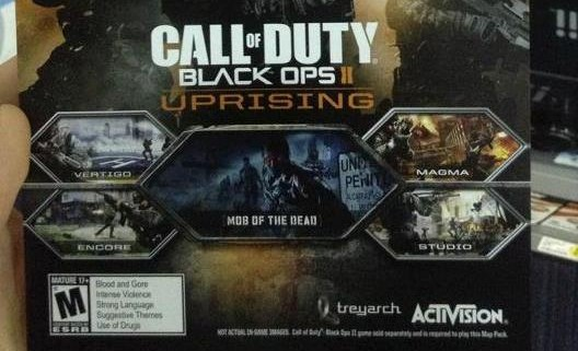 call of duty black ops 2 uprising dlc