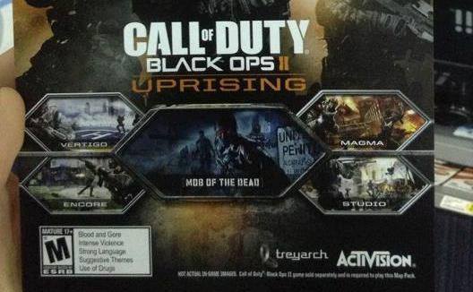 Rumor - Call Of Duty: Black Ops II Uprising DLC To Launch April 16th