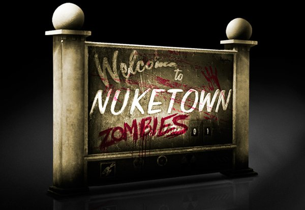 Zombies Invade Call Of Duty: Black Ops 2 Nuketown Map