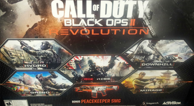"""Rumor - Call of Duty: Black Ops II """"Revolution"""" DLC Launches Jan 29th"""
