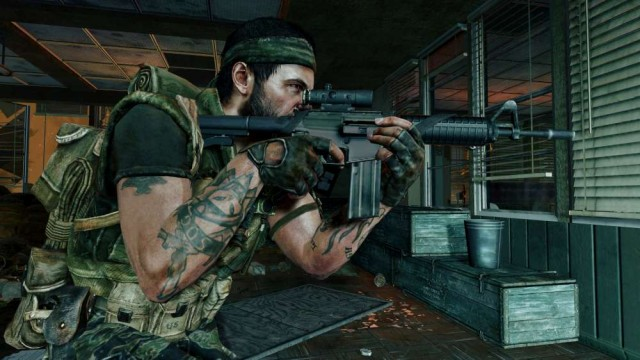 the First Strike DLC map pack for Black Ops after all – ooh how nice!