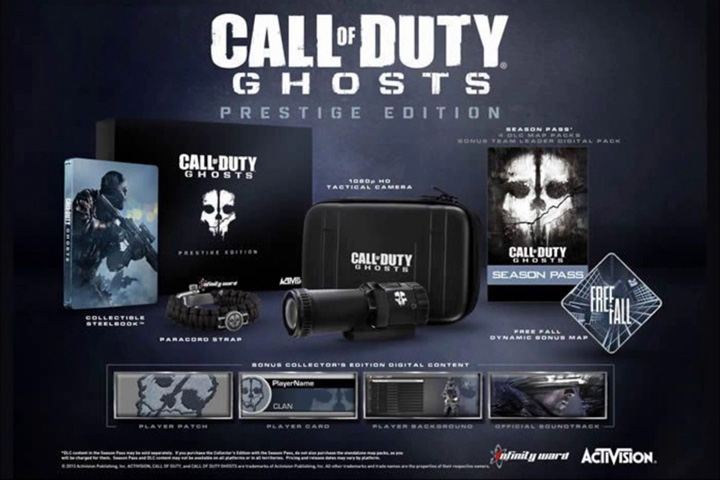 call of duty ghosts prestige edition leaked