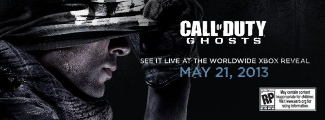[Update] Call Of Duty: Ghosts Officially Confirmed, Full Reveal May 21st