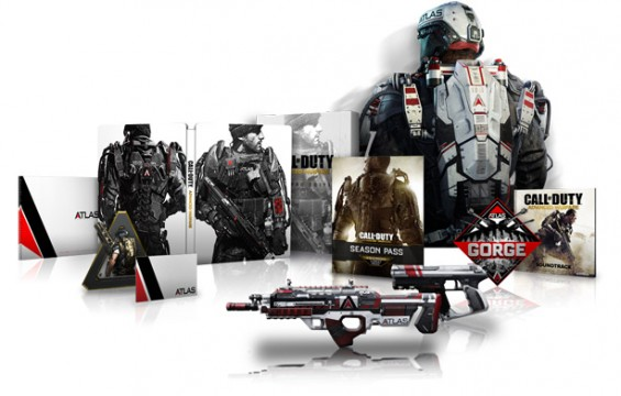 Call Of Duty: Advanced Warfare Adds Three Different Collector's Sets