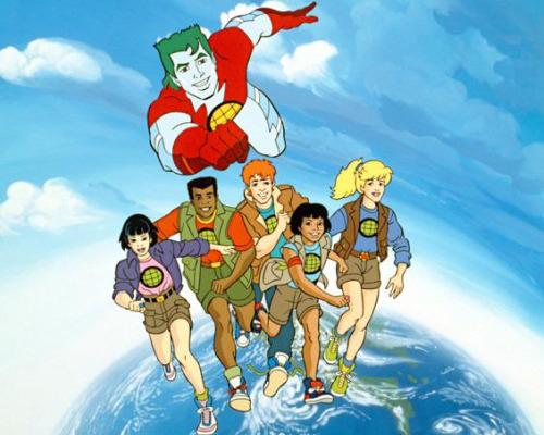 Captain Planet Cartoon To Get Live-Action Movie