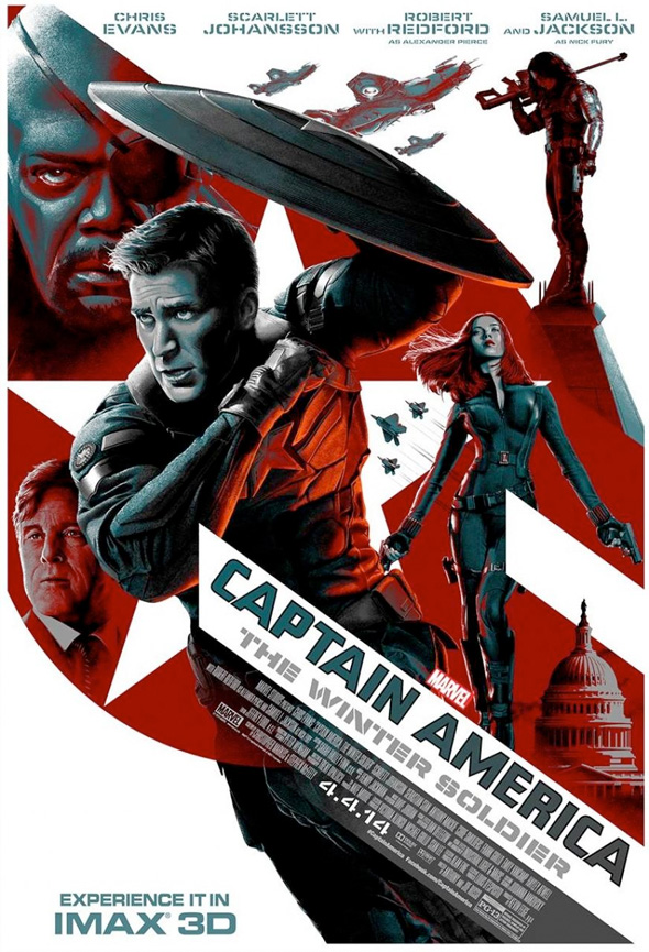 Watch The First 10 Minutes Of Captain America: The Winter Soldier, Plus New Poster