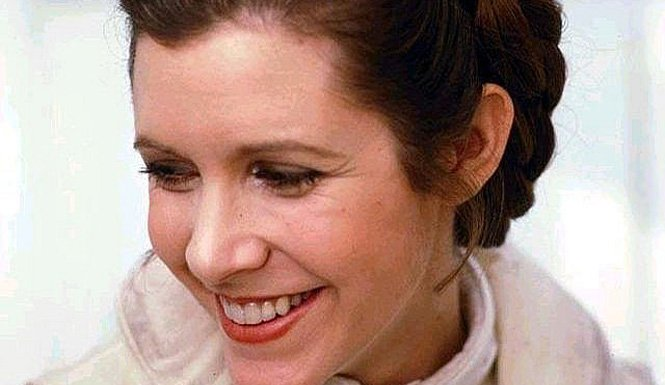 Carrie fisher is star wars episode vii s first confirmed cast member