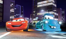 John Turturro And Eddie Izzard Board Cars 2