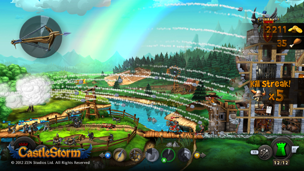 Zen Studios' CastleStorm Storms Xbox Live And Windows 8 This April