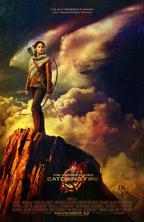catching fire poster The Hunger Games: Catching Fire Gallery