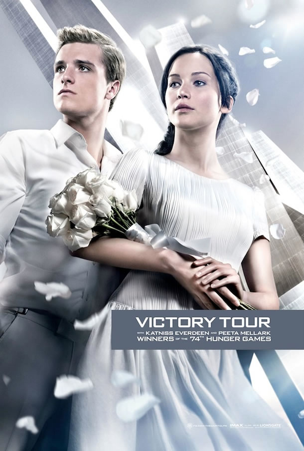 catching fire victory tour poster 1 The Hunger Games: Catching Fire Gallery