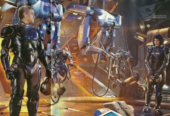First Look At Charlie Hunnam And Rinko Kikuchi In Guillermo del Toro's Pacific Rim