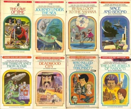 Choose Your Own Adventure Books Will Become Choose Your Own Movies