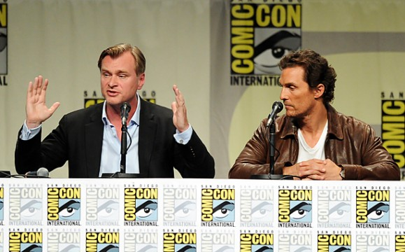 christopher nolan matthew mcconaughey interstellar