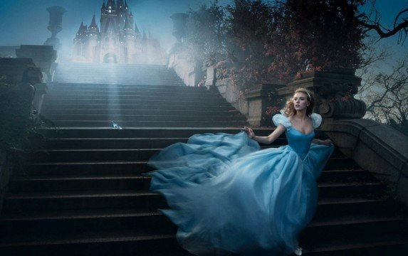 First Glimpse Of Cinderella Ahead Of Wednesday's Trailer Debut