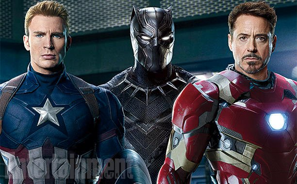 Cap, Iron Man And Black Panther Adorn EW Cover For Captain America: Civil War