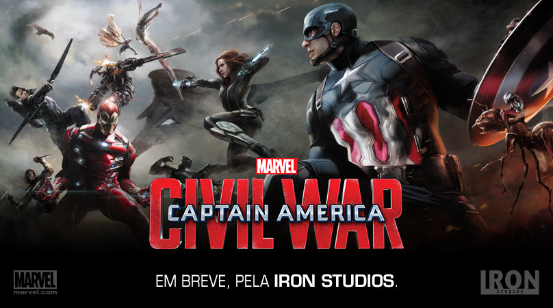 Captain America: Civil War Promo Art Teases An Epic Clash Of Heroes