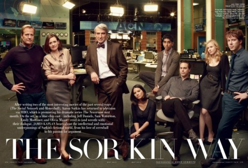 Check Out The Full Cast Of Aaron Sorkin's New HBO Series The Newsroom