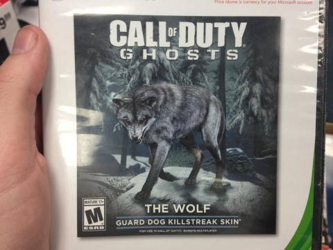 call of duty ghosts wolf dlc
