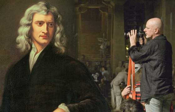 Sir Isaac Newton Getting His Own Action Franchise