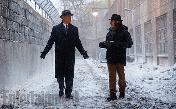 First Look At Tom Hanks From The Set Of Steven Spielberg's Untitled Cold War Thriller