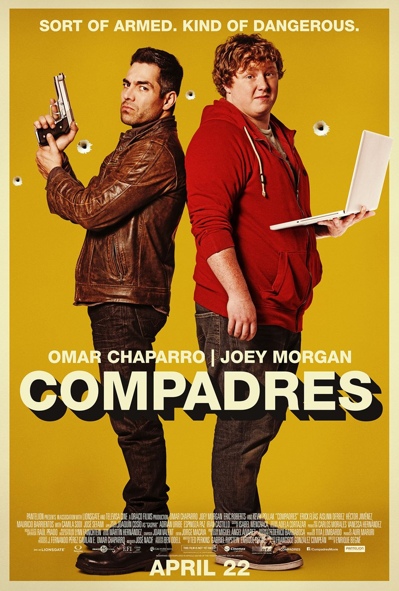 Exclusive Compadres Images Shed Light On Enrique Begne's Action-Comedy