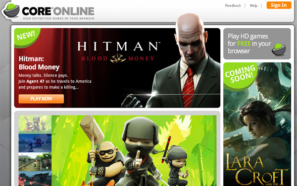 Square Enix Launches Core Online, HD Streaming Games Portal