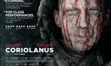 UK Poster For Coriolanus Shows Off A Bloody Ralph Fiennes