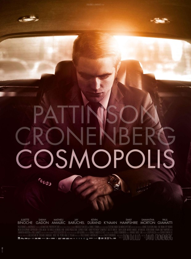 First Poster And Trailer For David Cronenberg's Cosmopolis