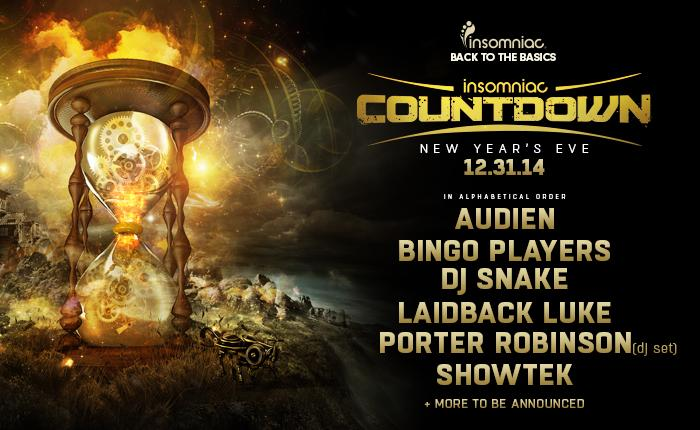 Insomniac Reveals An Impressive Lineup For COUNTDOWN New Year's Eve