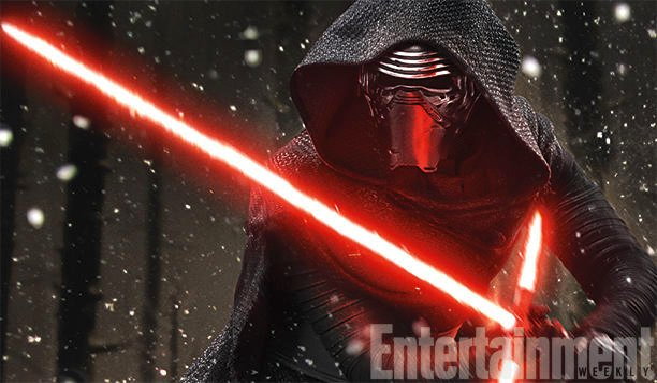 Star Wars: The Force Awakens Big Bad Kylo Ren Brandishes Crossguard Lightsaber In New Still