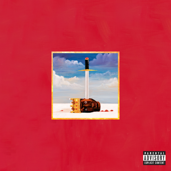 cover Kanye West - My Beautiful Dark Twisted Fantasy Review (A Second