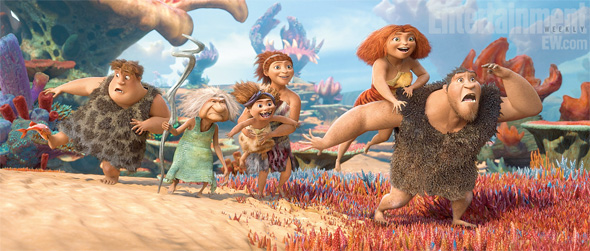 New Images From Dreamworks Animation's The Croods