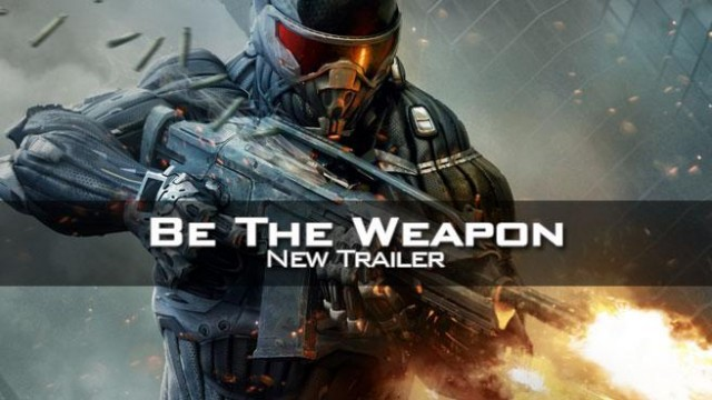 Crysis 2 'Be The Weapon' Trailer