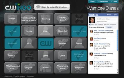 CW Launches New Social Media Game With The Vampire Diaries CWingo