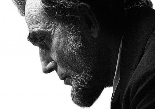 The First Poster For Lincoln Features A Somber Daniel Day Lewis