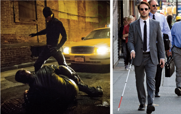 Daredevil Wraps Production As First Image Of Charlie Cox In Costume Arrives