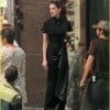 Christian Bale And Anne Hathaway On The Dark Knight Rises Set