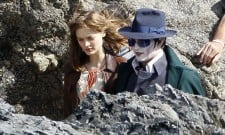 First Look At Johnny Depp On The Set Of Dark Shadows