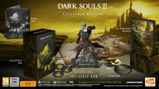Leaked Online Listing Potentially Outs Two Dark Souls III Special Editions