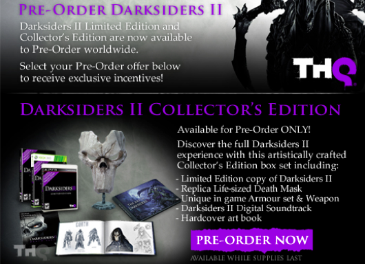 THQ Unveils Its Darksiders II Summer Of Death Promotion