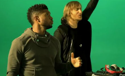 David Guetta Ft. Usher - Without You Music Video