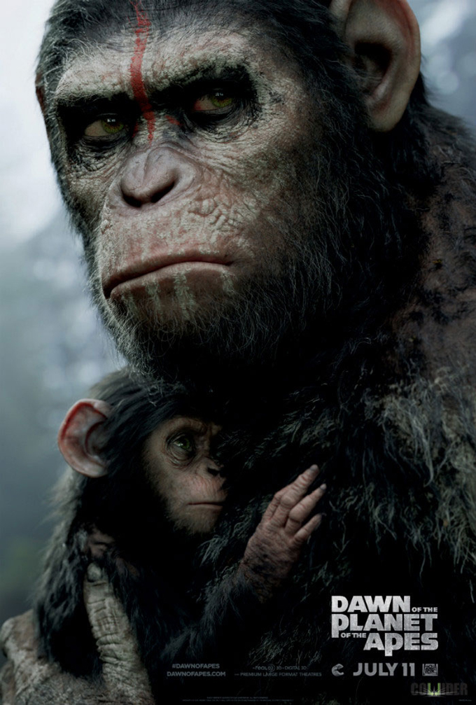 The Apes Have The Advantage In New TV Spot And Poster For Dawn Of The Planet Of The Apes