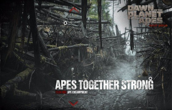 Dawn Of The Planet Of The Apes Promo Images Show Desolation And Destruction