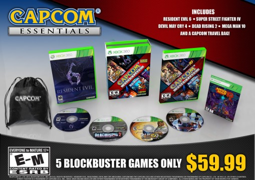 dbef0a7f384a716a933565d0a355c6fe 509x360 Capcom Essentials delivers Resident Evil 6 And Four Other Games For $60