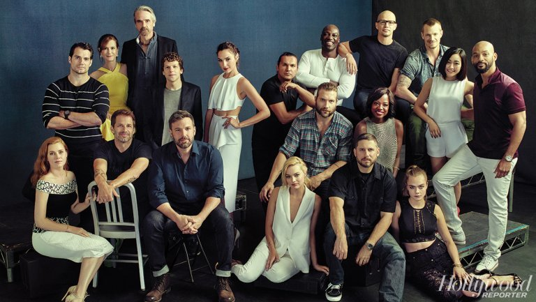 DC's Cinematic Universe Comes To Life In Batman V Superman: Dawn Of Justice, Suicide Squad Group Photo
