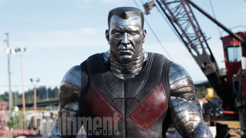 Colossus Looms Large In New Pair Of Deadpool Photos