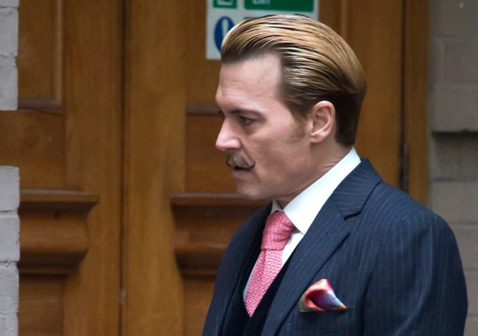 Johnny Depp's Mustache Is The Real Star In New Image From Mortdecai