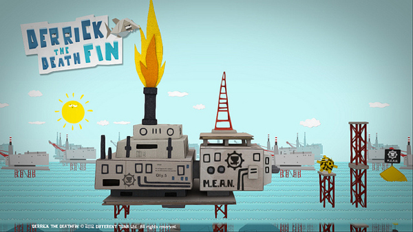 Derrick The Deathfin Launches On PSN, With Launch Trailer!