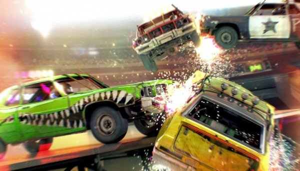 8 Ball Mode Brings Chaotic Derby Action To DiRT Showdown